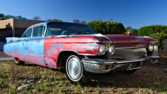 1960 Cadillac Coupe de Ville - part 4